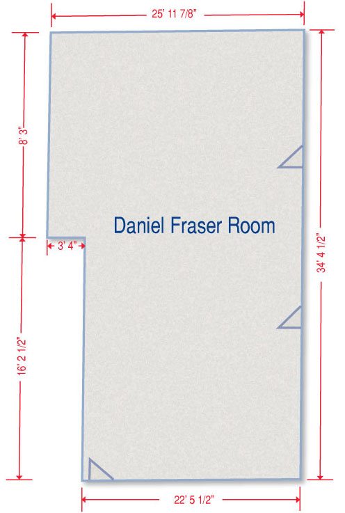 Meetings & Events Daniel Fraser Room