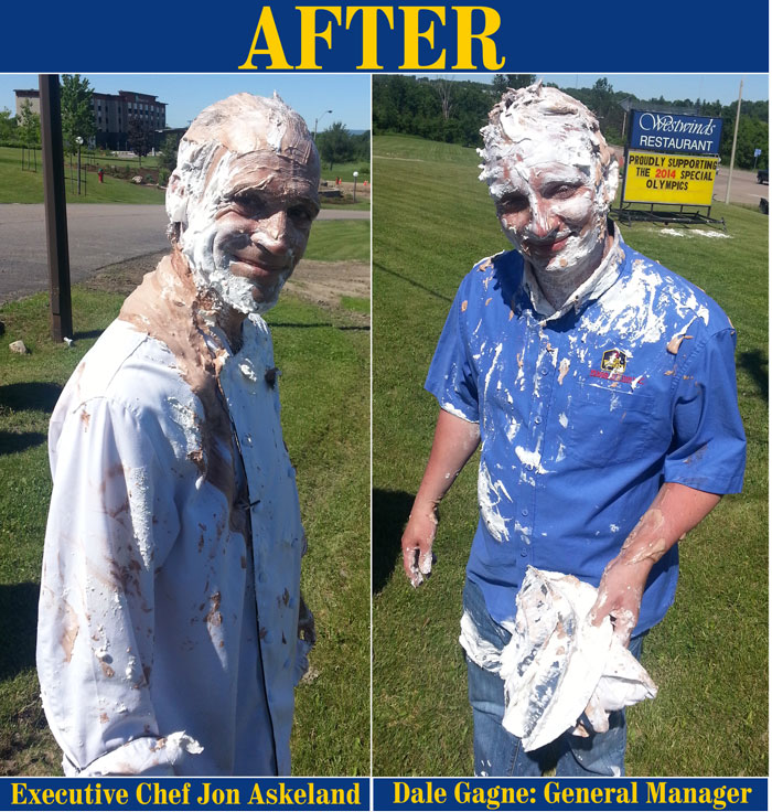 Fundraiser Pie Throwing [After]