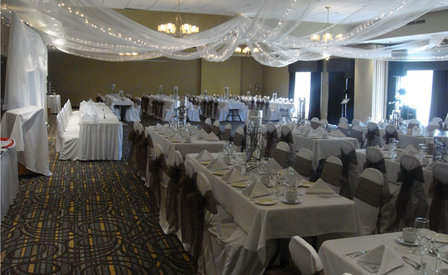 We are an upscale wedding venue nestled in the heritage town of Pembroke