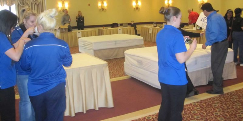 Best Western Bed Making Contest