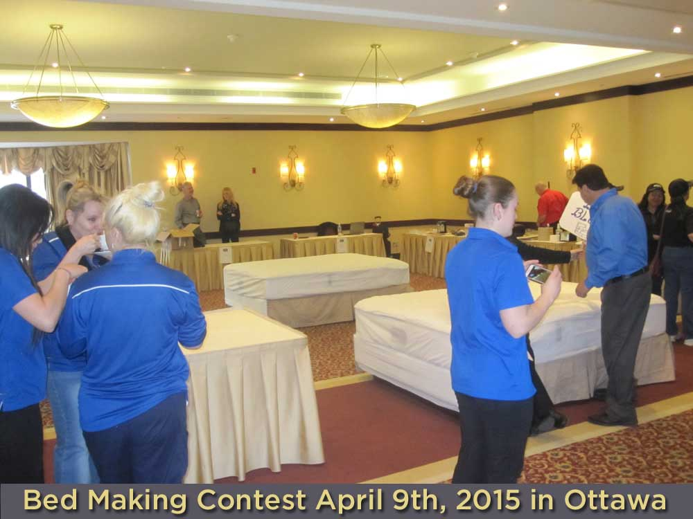 BEST WESTERN Bed Making Contest Recap