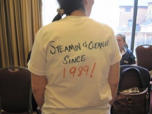 Steamin & Cleanin Since 1989