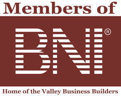 BNI MEmbers- Home of the Valley Business Builders