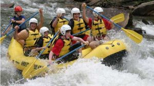 Family or Extreme Rafting Package with Accommodations