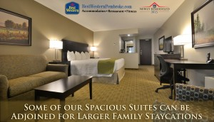 Flexible Hotel Suites for Smaller & Larger Familes