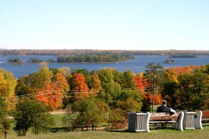 Petawawa Home Fires Park in Fall