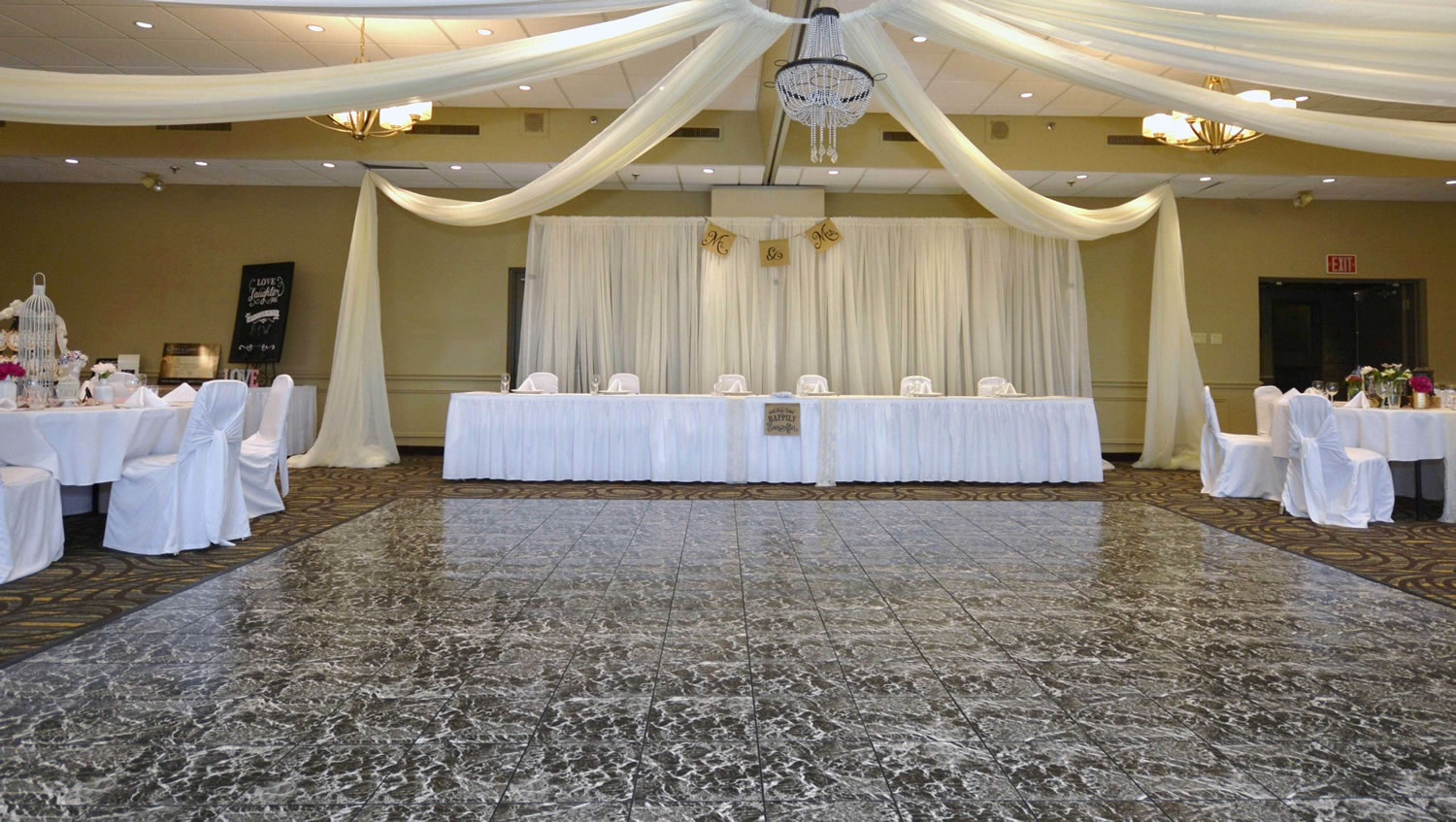 Copeland Room Wedding Set Up