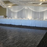 Wedding Head Table in the Campbell Room