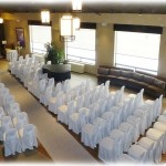 Seating Set up in Rustic Lobby