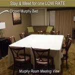 Murphy Convertable Bed- Closed View
