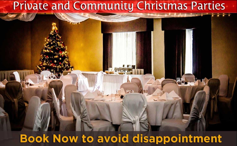 private & Community Christamas Parties