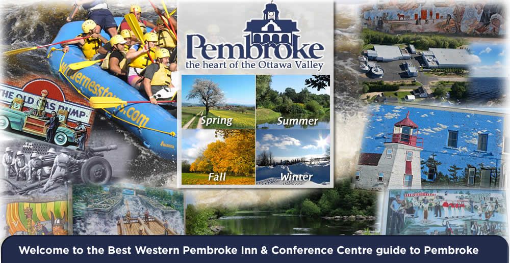 The pretty little city of Pembroke has plenty of excitement all year around