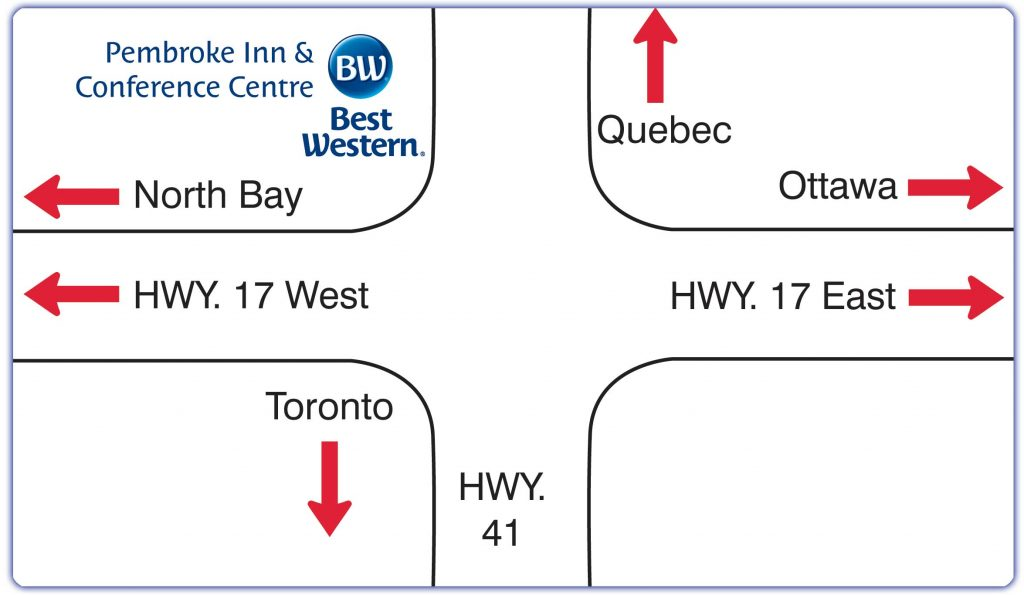 Best Western Pembroke Map Location