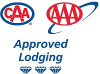 CAA 3 Diamond Approved Lodging