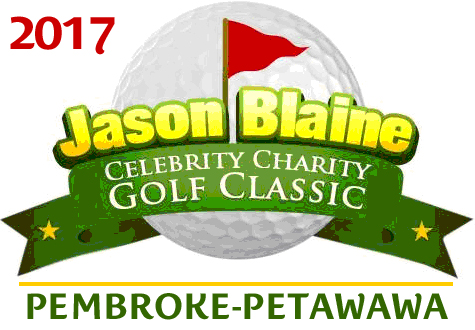 Jason Blaine and the Celebrity Golf Classic Event