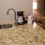 Queen Suite Coffee Maker and Sink