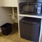 Queen Suite Microwave Oven and Fridge