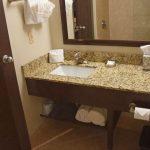Queen Suite Bathroom Granite Counter