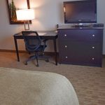 Queen Suite Bedroom with Flat Screen TV