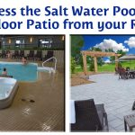 Direct Access to the Salt Water Pool