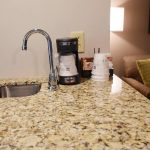 Queen Suite Coffee Maker with Sink