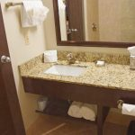 Queen Suite Bathroom Granite Counter