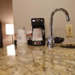 Poolside King Coffee Maker & Sink
