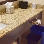 Poolside King Bathroom Granite Counter