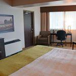 Luxury Suite Sleep Area & Window View