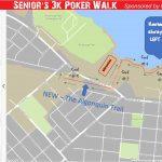 Senior's Poker Walk Route