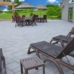 Outdoor Patio from Pool Area