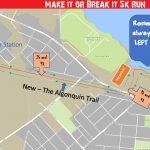 Zombie Run 5k Route