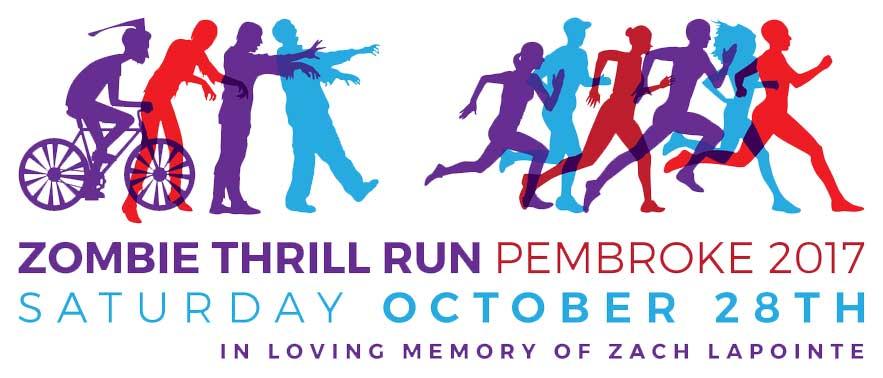 2017 Schedule for Zombie Run Participants