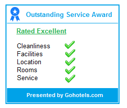 GoHotels 2017 Outstanding Service Award