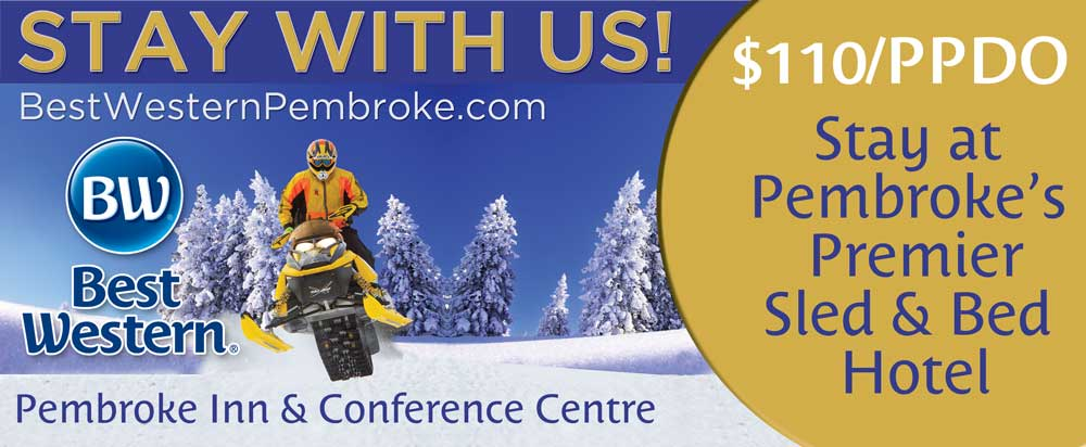 Why Snowmobilers Choose Best Western Pembroke Inn