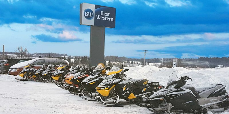 Snowmobilers Choose Best Western Pembroke Inn
