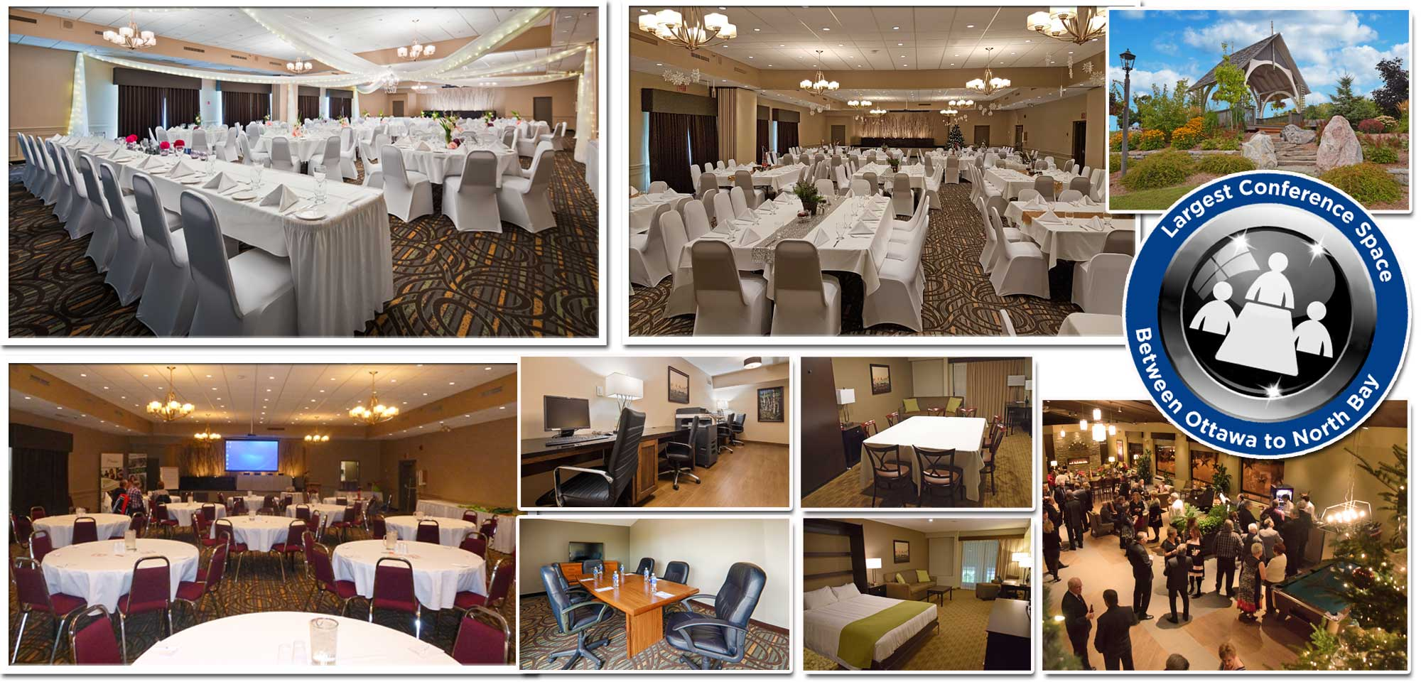 Over 9,000 Square Feet of Conference Space