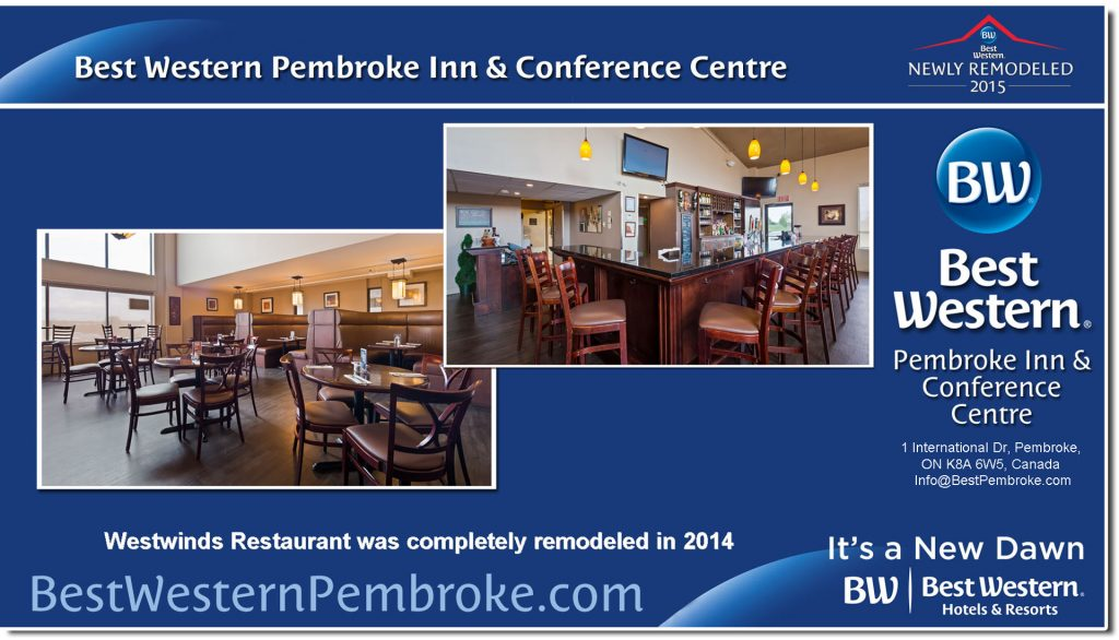 Experience Westwinds Restaurant in Pembroke