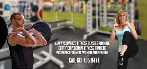 Fitness Classes, Personal Training, Cardio Workouts, TRX Training and Much More