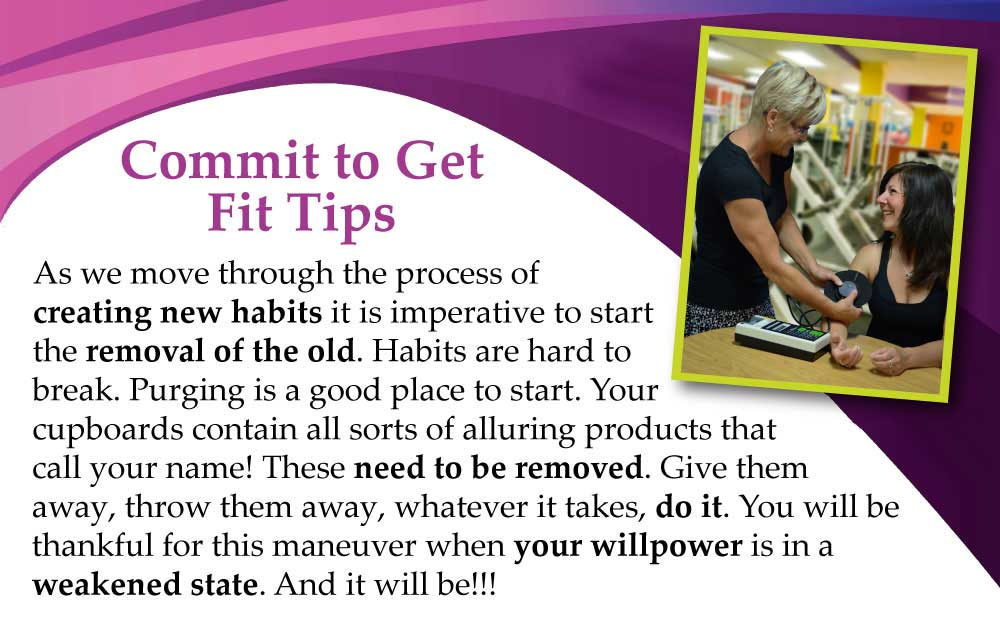 Commit to Get Fit Help Line