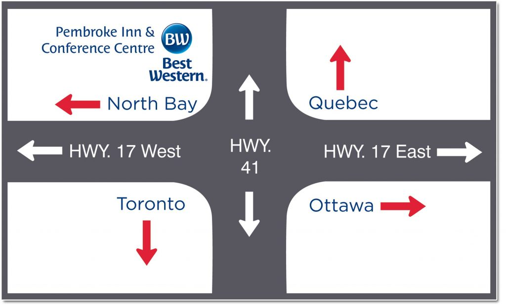 Best Western Pembroke Inn Location