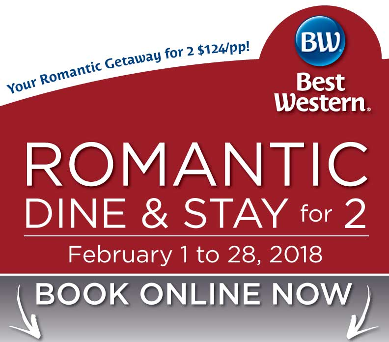 Book Your Valentine's Day 2018 Getaway Now