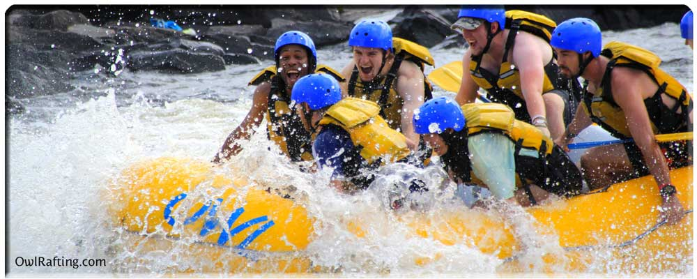 Owl Rafting High Adventure