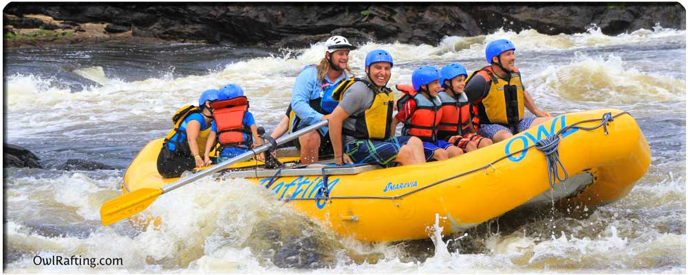Owl Rafting Family Adventure