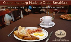 Complimentary Made to Order Breakfast