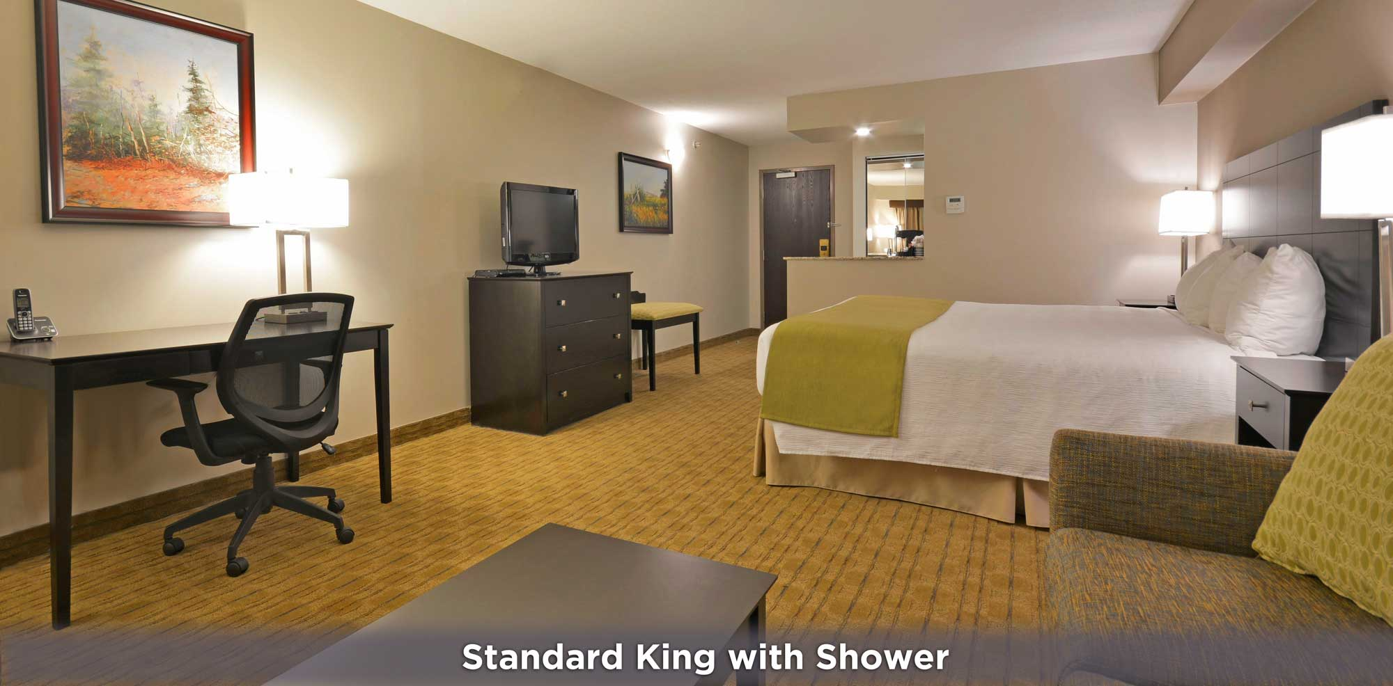 Standard King with Shower