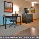 Fireplace Single Queen