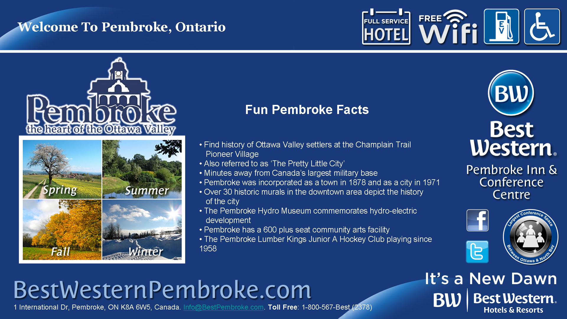 Pembroke is The Heart of The Ottawa Valley