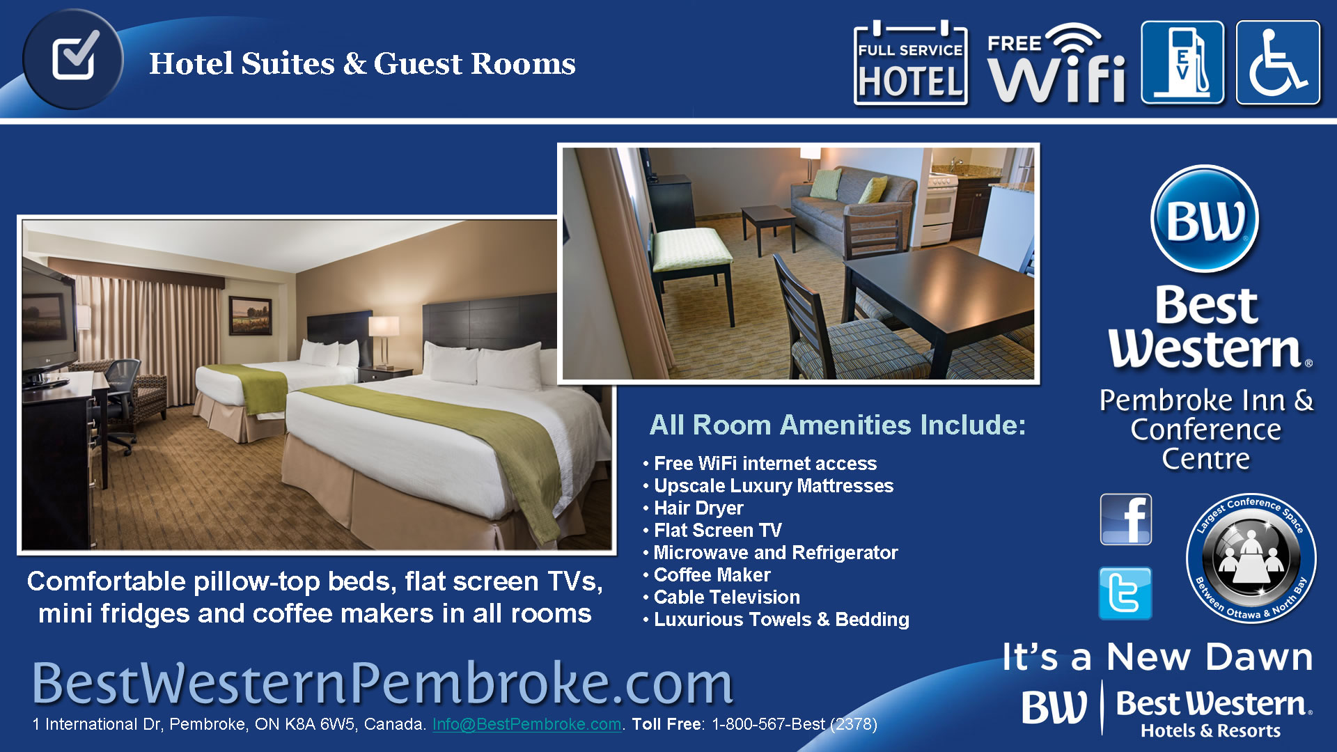 Comfortable Suites & Guest Rooms