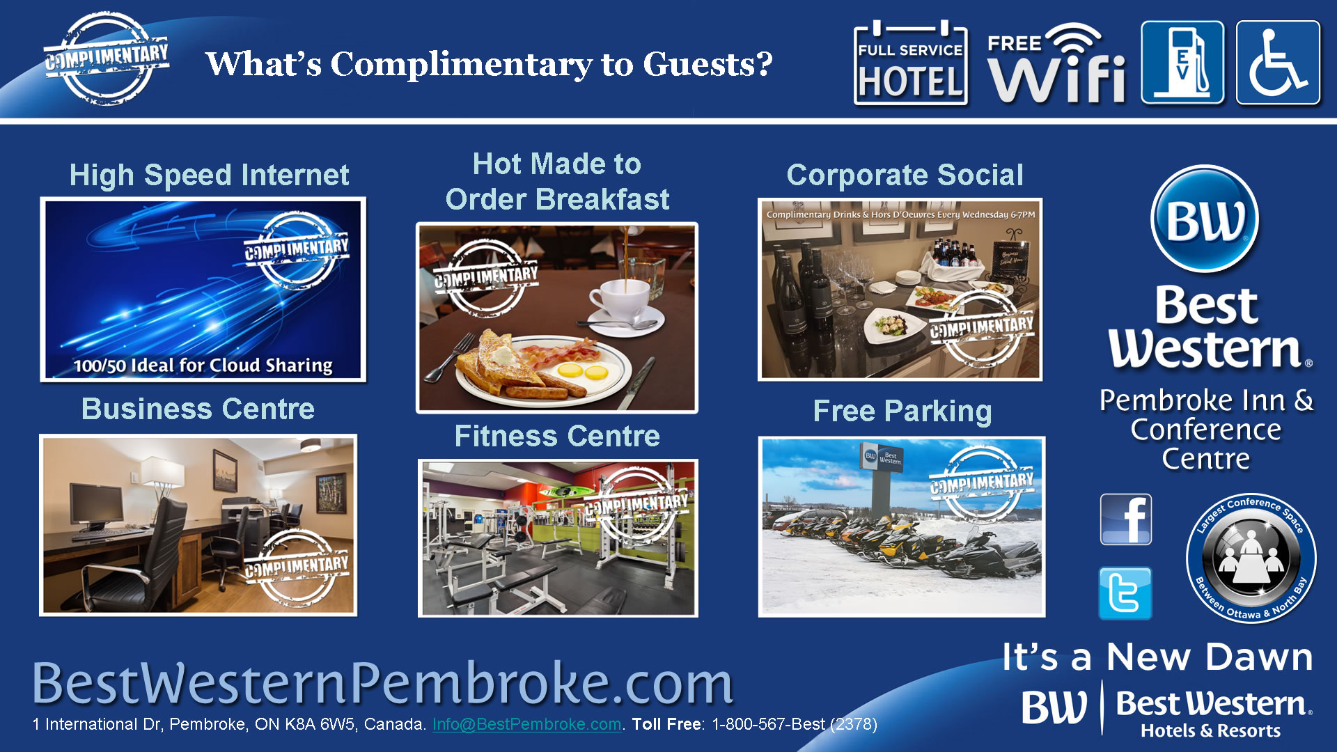 What's Complimentary?